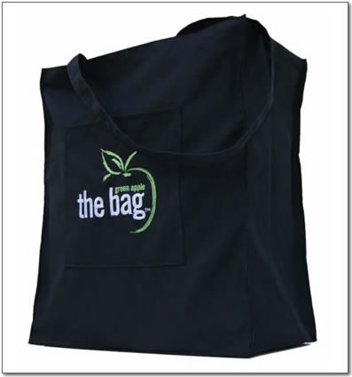 Flaunt It! Monday: The Green Apple Bag