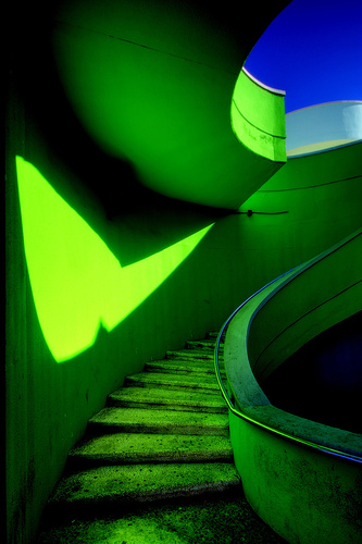 green-stairs