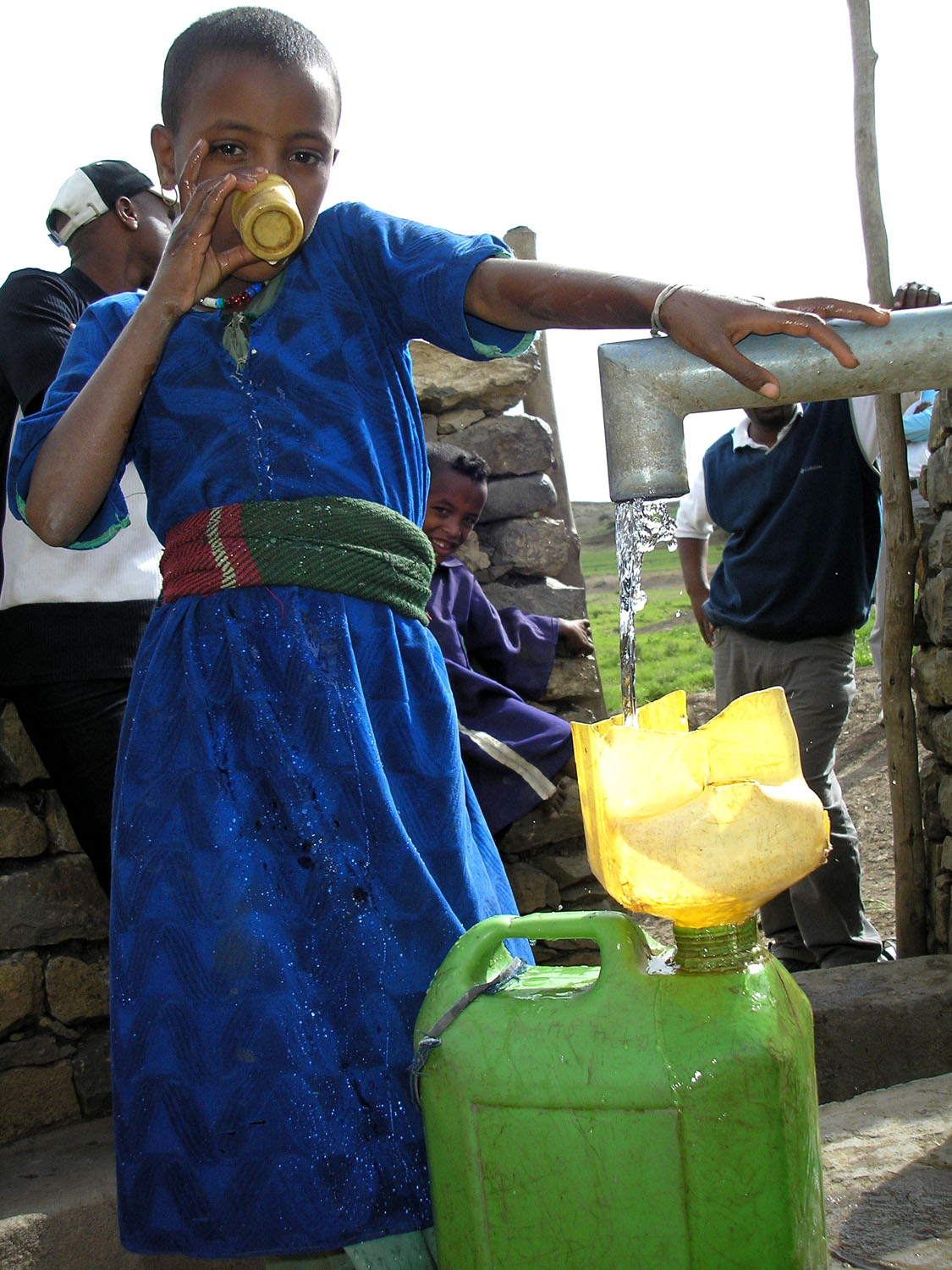 The right to clean and fresh water