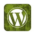 green-grunge-wordpress-logo