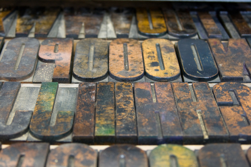 NSCAD Wooden Type