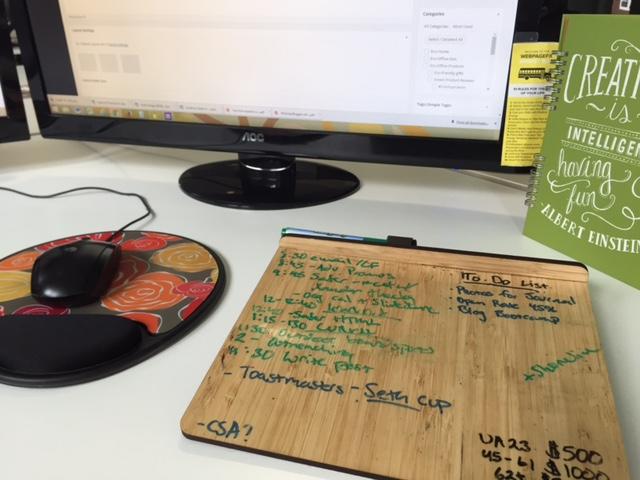 bambo white board