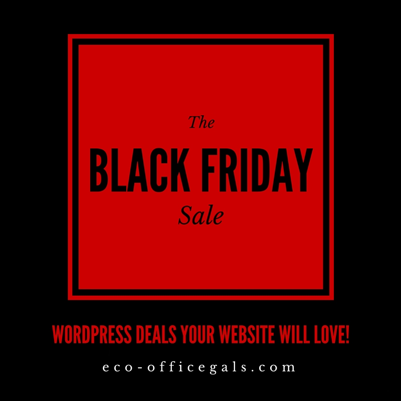 Black Friday through Cyber Monday 2015: WordPress Deals Your Website Will Love! [over]
