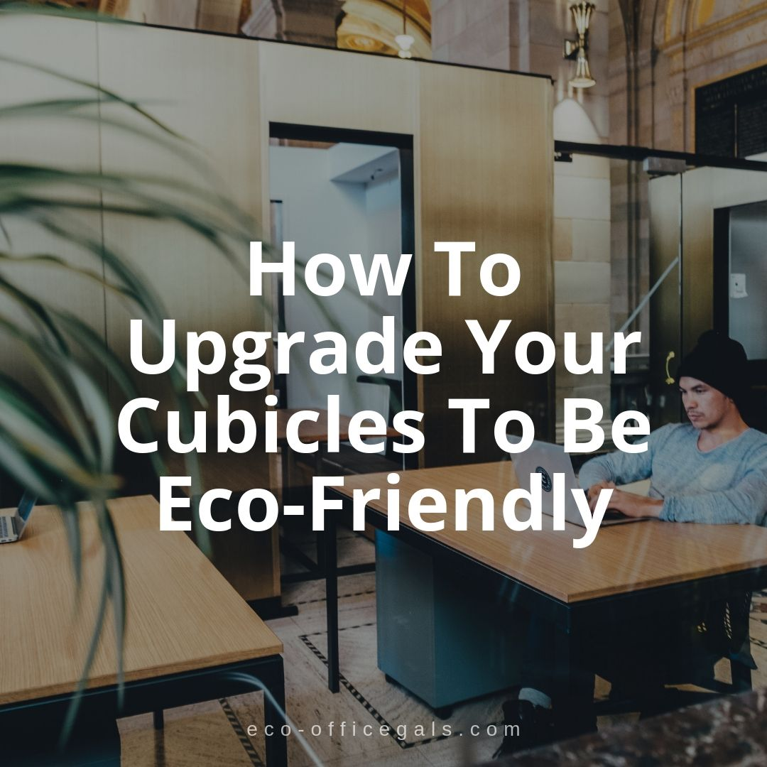 How To Upgrade Your Cubicles To Be Eco-Friendly